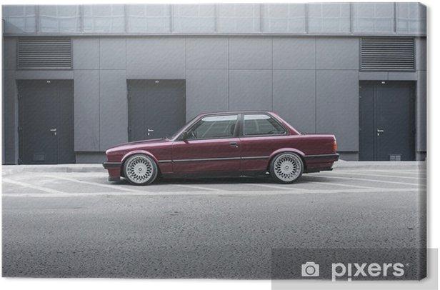 Tableau sur toile BMW E30 - Thèmes