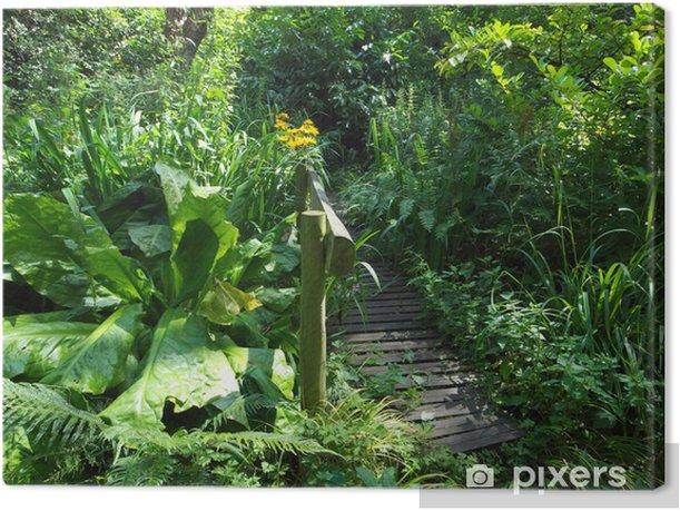 Tableau sur toile Bog Garden - Paysages urbains