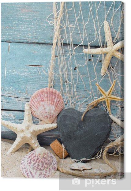 Tableau sur toile Bon pour des vacances à la mer - Vacances