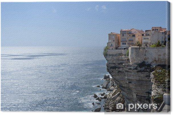 Tableau sur toile Bonifacio - Corse - France - Europe