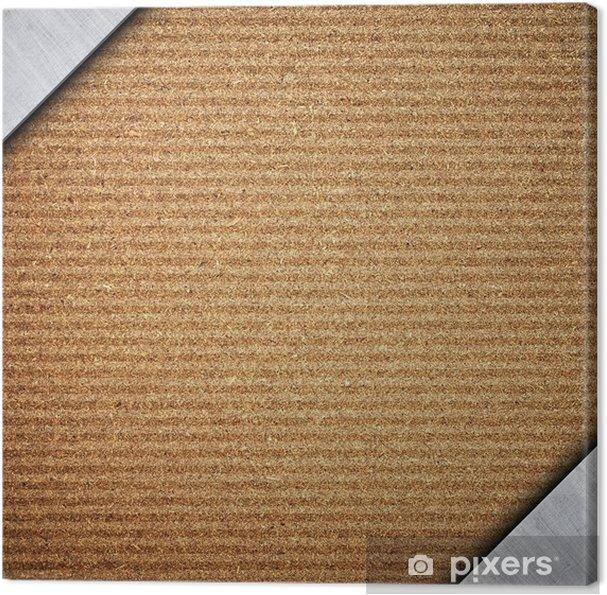Tableau sur toile Bord comprimé avec cadre en métal - Industrie lourde