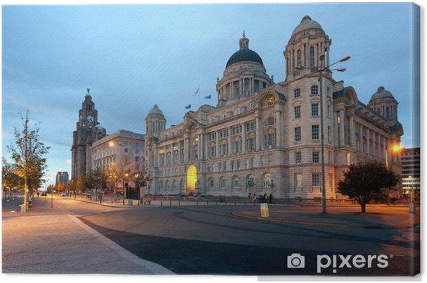 Tableau sur toile Bord de mer à Liverpool - Europe