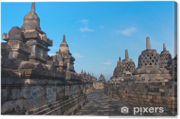 Tableau sur toile Borobudur Temple, Yogyakarta, Java, en Indonésie. - Asie