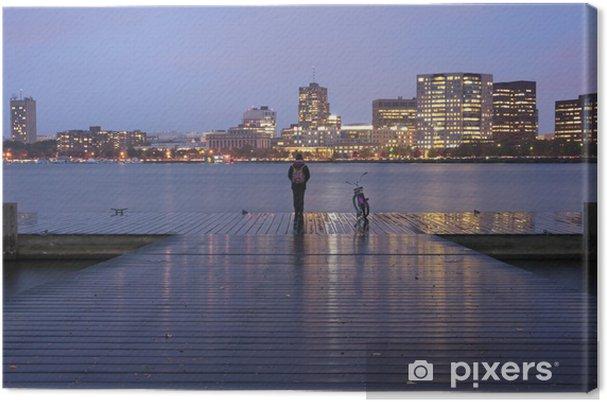 Tableau sur toile Boston Massachusetts Charles River Basin - Amérique