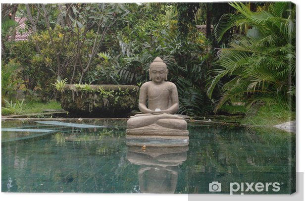 Tableau sur toile Bouddha à Bali - Styles