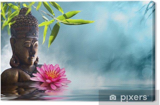 Tableau sur toile Bouddha en méditation - Styles