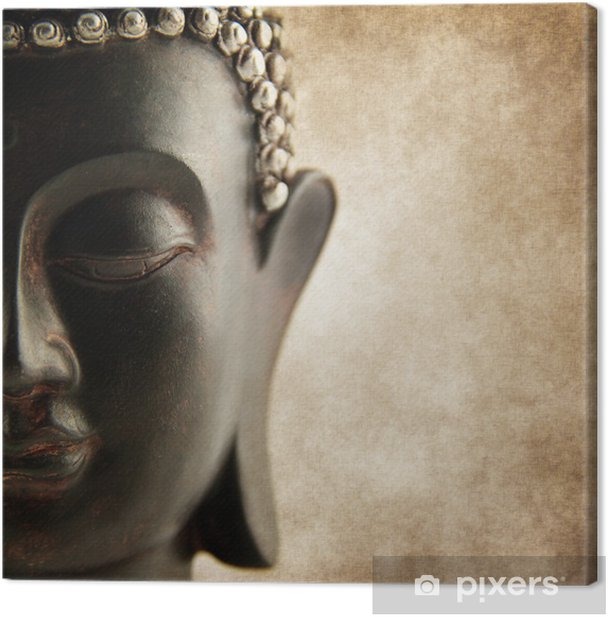 Tableau sur toile Bouddha style grunge - Styles
