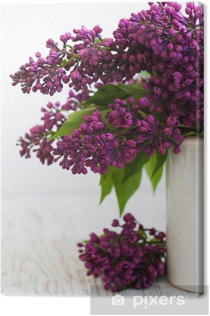 Tableau sur toile Bouquet d'un lilas - Fleurs
