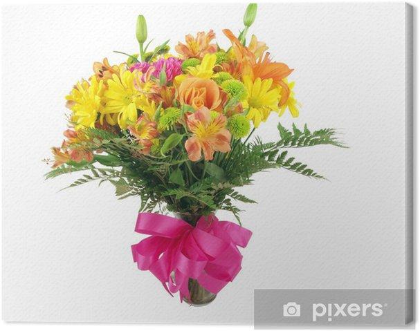 Tableau sur toile Bouquet de fleur - Fleurs