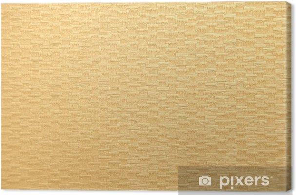 Tableau sur toile Bronzage texture du papier - Signes et symboles