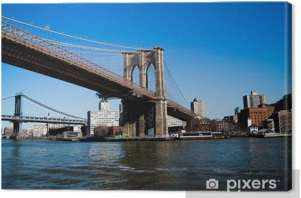 Tableau sur toile Brooklyn bridge - Brooklyn Bridge