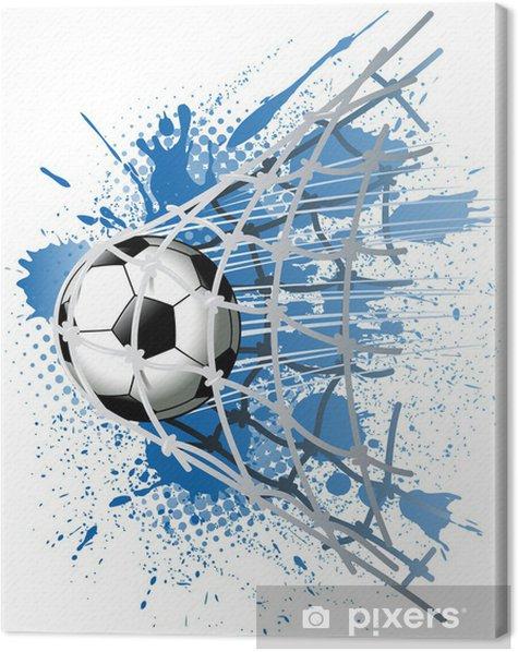 Tableau sur toile But - Sports collectifs