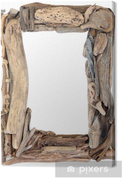 tableau sur toile cadre en bois flott pixers nous. Black Bedroom Furniture Sets. Home Design Ideas