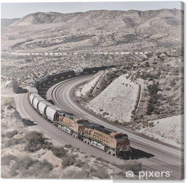 Tableau sur toile Cajon Pass - Industrie lourde