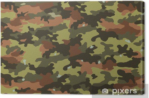 Tableau sur toile Camouflage Fabric Textures, textures 1 - Vie