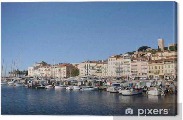 Tableau sur toile Cannes - Europe