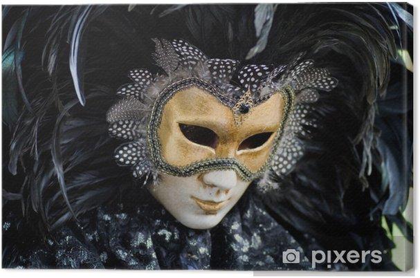 Tableau sur toile Carnaval de Venise masque costume - Divertissements