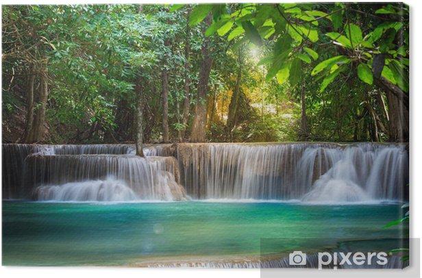 Tableau sur toile Cascade Thaïlande Kanchanaburi (Huay Mae Kamin) - Thèmes