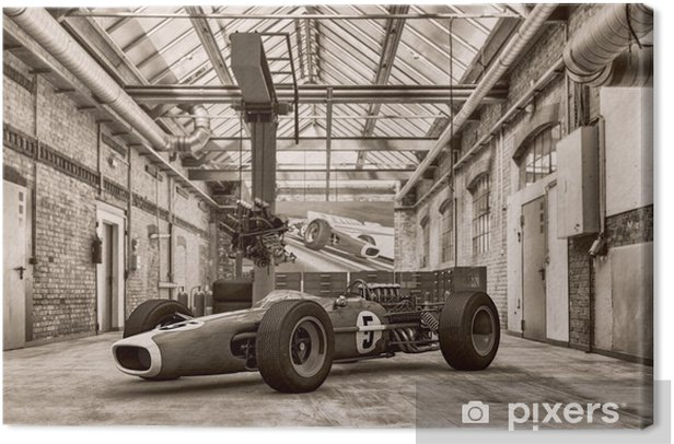 Tableau sur toile Cascene 110 - Formule Un