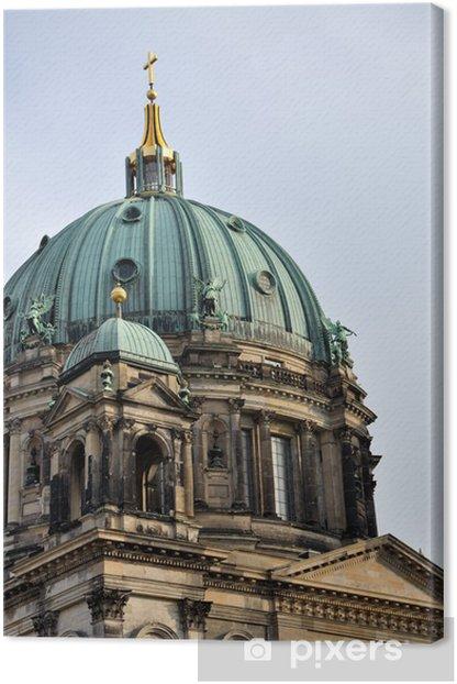 Tableau sur toile Cathédrale de Berlin - coupole - Villes européennes