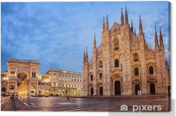 Tableau sur toile Cathédrale de Milan, Italie - Europe