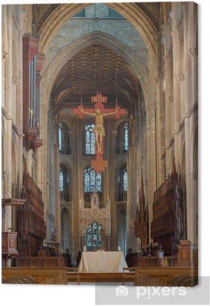 Tableau sur toile Cathédrale de Peterborough - Bâtiments publics