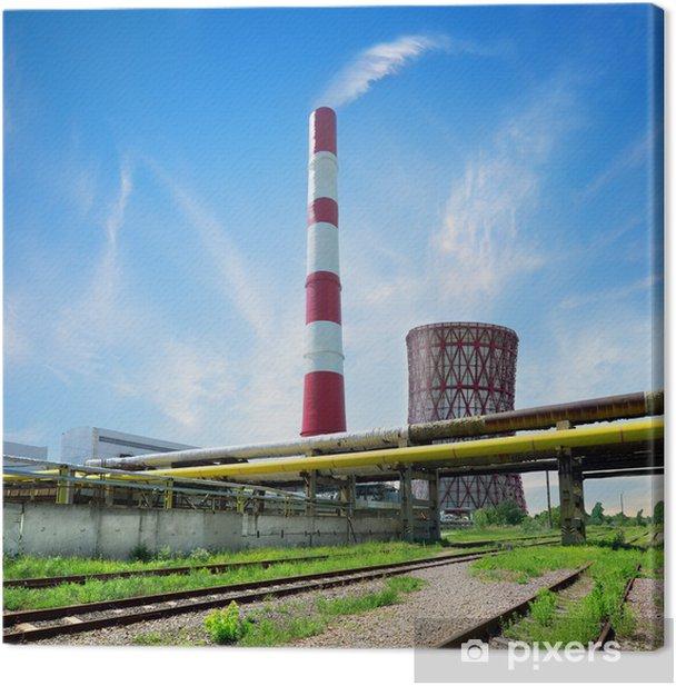 Tableau sur toile Centrale thermique - Industrie lourde