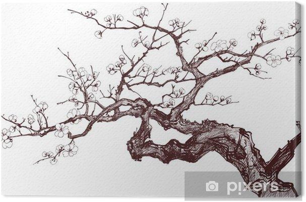 Tableau sur toile Cerisier - Styles
