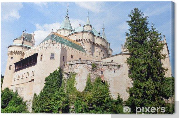 Tableau sur toile Château Bojnice, de la Slovaquie, de l'Europe - Europe