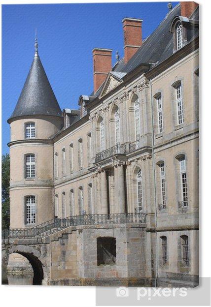 Tableau sur toile Château d'Haroué - Lorraine - Vacances