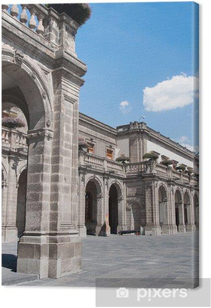Tableau sur toile Château de Chapultepec, Mexico - Amérique