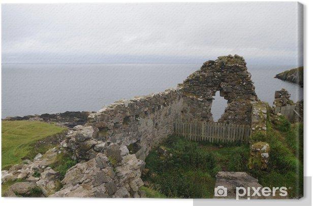 Tableau sur toile Château de Duntulm, île de Skye, en Écosse - Europe