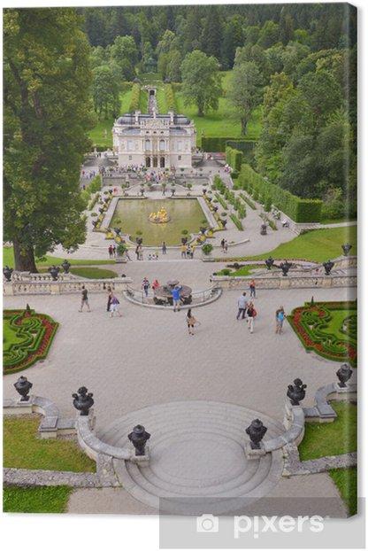 Tableau sur toile Château de Linderhof, Allemagne 12 - Europe