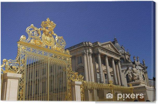 Tableau sur toile Château de Versailles - Vacances