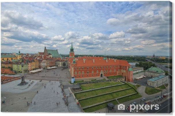Tableau sur toile Château royal de Varsovie - Thèmes
