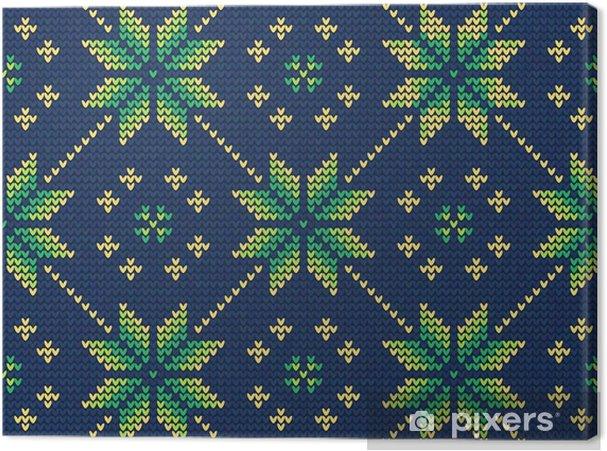 Tableau sur toile Christmas Sweater Pattern9 - Ressources graphiques