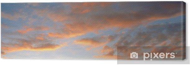Tableau sur toile Ciel crepusculaire - Ciel