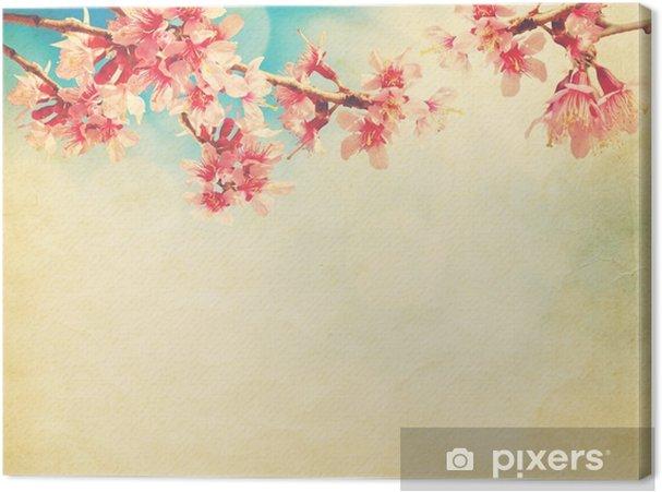 Tableau sur toile Ciel en journée ensoleillée avec des nuages blancs - Ressources graphiques