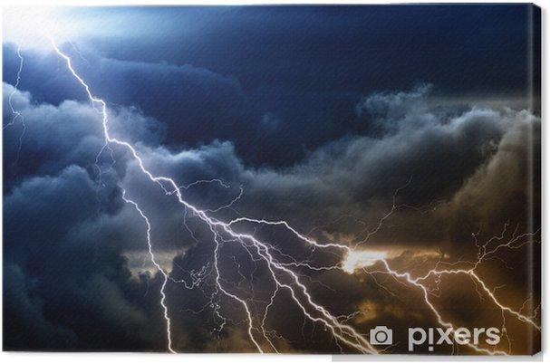 Tableau sur toile Ciel orageux - Catastrophes naturelles