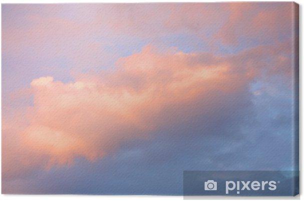 Tableau sur toile Cieux colorés - Ciel