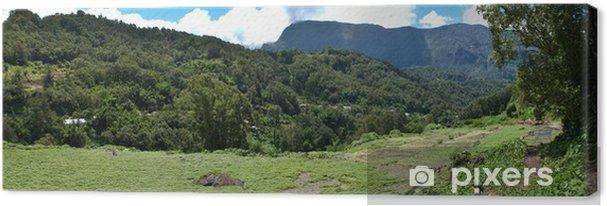 Tableau sur toile Cirque de Salazie- Ile de la Réunion - Vacances
