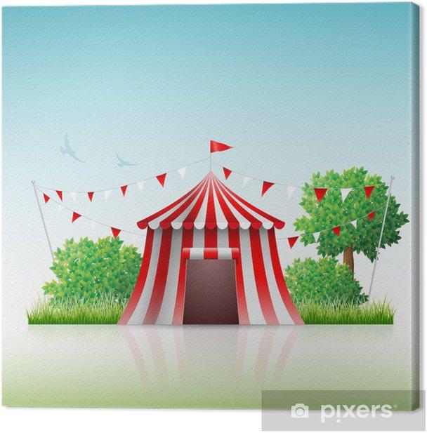 Tableau sur toile Cirque - Divertissements