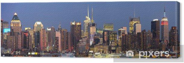 Tableau sur toile City new york - Amérique