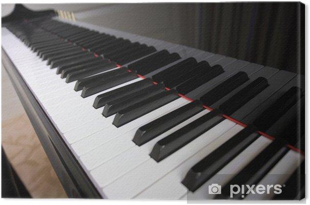 Tableau sur toile Clavier de piano - Musique