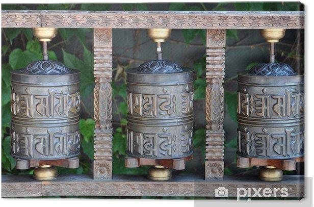 Tableau sur toile Cloches tibétaines chance - Asie