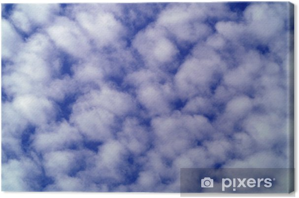 Tableau sur toile Cloudy sky - Ciel