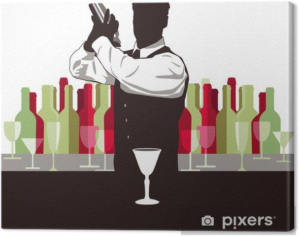 Tableau sur toile Cocktail mixen - Alcool