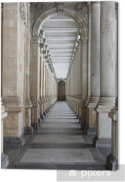 Tableau sur toile Colonnade à Karlovy Vary -