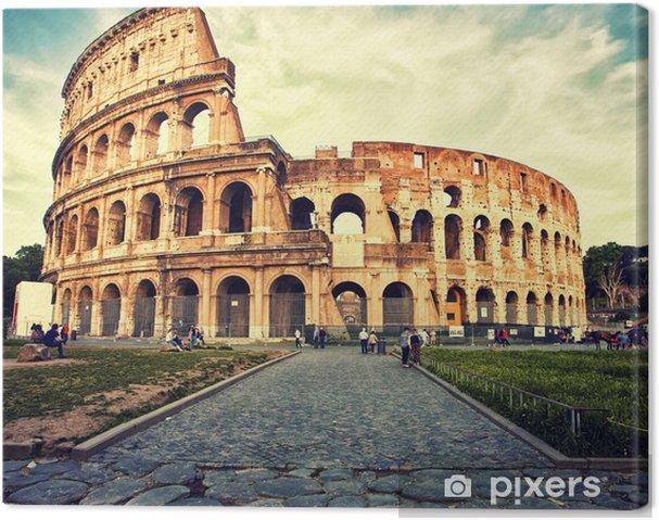 Tableau sur toile Colosseum -