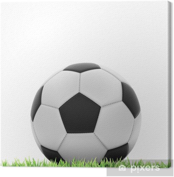 Tableau sur toile Concept de Football - Sports individuels